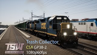 Download Trash Collector : Northeast Corridor New York : Train Sim World 1080p60fps Video