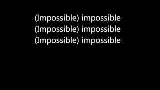 Download James Arthur - Impossible (Lyrics) Video