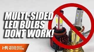 Download Main Reasons to Avoid Multi-Sided LED Headlight Bulbs Video