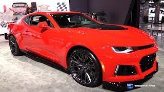 Download 2017 Chevrolet Camaro ZL1 - Exterior and Interior Walkaround - 2016 LA Auto Show Video