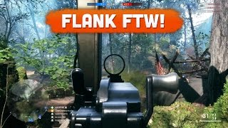Download FLANK FTW! - Battlefield 1 | Road to Max Rank #30 (Multiplayer Gameplay) Video