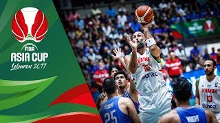 Download Lebanon v Philippines - Highlights - Classification 5-8 - FIBA Asia Cup 2017 Video