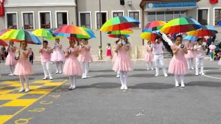 Download Ali İhsan Dayıoğlugil İlkokulu 3-A Sınıfı 23 Nisan Şemsiye Şovu 2016 Video