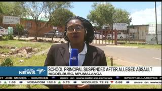 Download Mpumalanga school principal suspended after alleged assault Video
