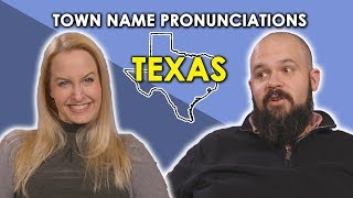 Download We Try to Pronounce Texas Town Names Video