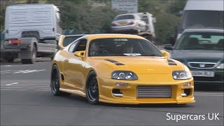 Download TOYOTA SUPRA NIGHT AT ACE CAFE Video