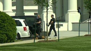 Download Secret Service guns down armed man outside White House Video