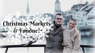 Download Christmas Markets & Fondues in SWITZERLAND! | Fashion Mumblr #VLOGMAS Day 1 Video