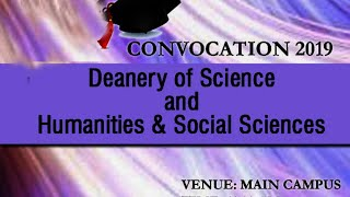 Download Convocation 2019 - Deanery of Science and Humanities and Social Sciences Video
