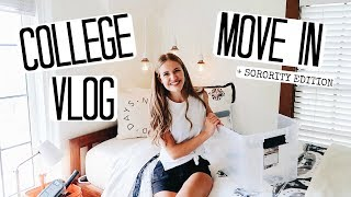 Download COLLEGE MOVE IN VLOG! MOVING INTO MY SORORITY AT UO! Video