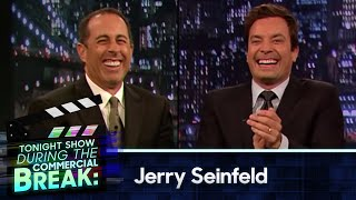 Download Jimmy Fallon and Jerry Seinfeld During The Commercial Break (Late Night with Jimmy Fallon) Video
