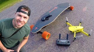 Download Mavic Pro - Active Track on a Boosted Board Video