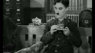 Download Charlie Chaplin Modern Times Coffee Drinking Funny Video