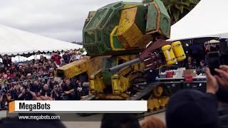 Download Megabots' Giant Fighting Robot! Video