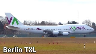 Download 1 Hour AMAZING Planespotting at Berlin Tegel Airport - Airline Variety! 747, A330, 767 and more! Video