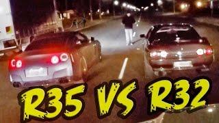 Download 2000hp Street Race - R32 GT-R vs R35 GT-R! Video