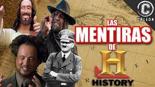 Download LAS MENTIRAS Y FRAUDES DE HISTORY CHANNEL   Yoshimitsu Cáleon Video