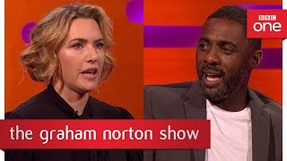 Download Idris Elba told Kate Winslet to keep her socks on during a sex scene - The Graham Norton Show: 2017 Video