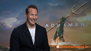 Download Patrick Wilson talks Aquaman, James Wan, CGI, and critiques Brian's singing Video