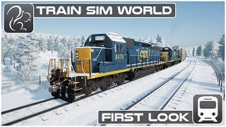 Download Train Sim World - First look (Beta Footage) [CSX Heavy Haul] Video