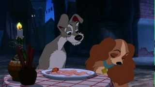 Download Lady And The Tramp - Bella Notte famous spaghetti scene Video