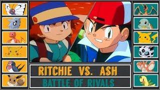 Download Ash vs. Ritchie (Pokémon Sun/Moon) - Kanto Rival Battle/Rematch Video