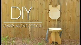 Download DIY - Plywood Folding Stool | Easy Woodworking Project | Izzy Swan Video