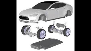 Download Tesla model 3 first cars worth a million dollars a piece but impacts semi truckl. stock 3000 Video