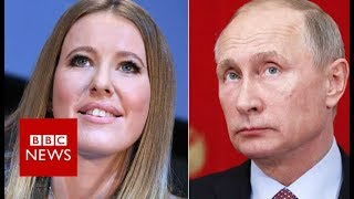 Download The woman running against Vladimir Putin for president - BBC News Video