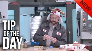 Download Machine Your Own Gifts on Your Haas! – Haas Automation Tip of the Day, Holiday Edition Video