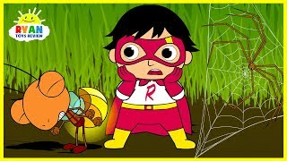 Download Ryan Shrinks in Bugs World  Cartoon Animation for Children! Video