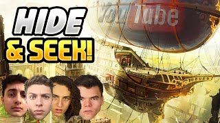 Download YOUTUBERS PLAY TEAM HIDE AND SEEK ON A FLYING SHIP! (BLACK OPS 3 DLC) Video