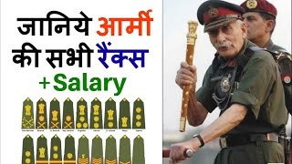 Download Army Ranks in India + Salary part 1 Video