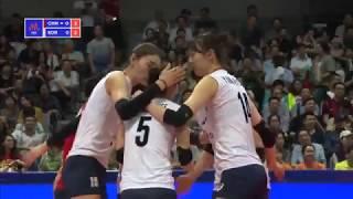Download Women's VNL 2018: China v Korea - Full Match (Week 1, Match 20) Video
