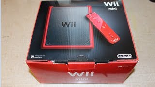 Download Nintendo Wii Mini Unboxing and Startup Video