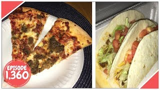 Download HAVING PIZZA AND TACOS YUM!! - September 07,2017 (Day 1,360) Video