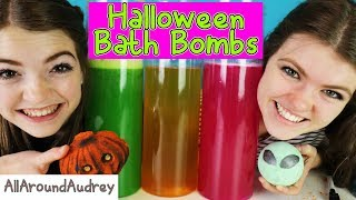 Download Halloween BATH BOMB Challenge GONE WRONG!! A Big SPOOPY MESS! /AllAroundAudrey Video