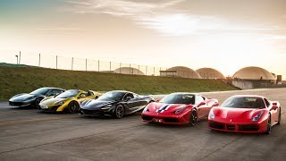 Download THE ULTIMATE SUPERCAR DRAG RACE Video