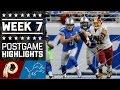 Download Redskins vs. Lions (Week 7)   Game Highlights   NFL Video
