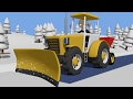 Download Tractor fairy tale for Kids and Snow | Winter | Traktorek Dla Dzieci - Na Ratunek Autku Video