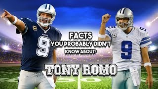 Download Tony Romo: 20 Facts You Probably Didn't Know Video
