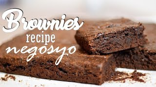 Download BROWNIES - Recipe Negosyo | It's More Fun in the Kitchen Video