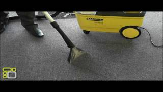 Download Karcher Carpet Cleaner PUZZI 100 Demonstration Video