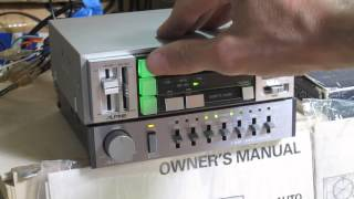 Download Alpine 5114 Cassette player with Alpine 3023 Equalizer Video