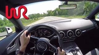 Download 2016 Audi TT Coupe 2.0T quattro S tronic - WR TV POV Test Drive Video