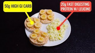 Download The Best Pre-Workout Meal for Muscle Gain Video
