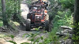 Download 80-90 turbo con carro forestale Video