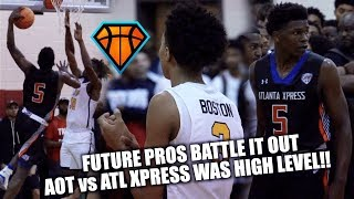 Download FUTURE PROS Anthony Edwards & Brandon 'BJ' Boston BATTLE IT OUT at #IHTOC!! | AOT vs ATL Xpress Video