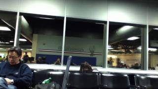 Download Raw footage , St Louis airport tornado hitting concourse C-10 Video