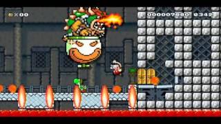 Download Super Mario Maker: SMW Bowser's Castle Back Door Video